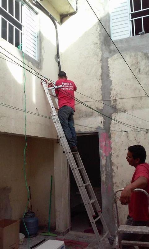 Instalação e Manutenção de Ar Condicionado Split Valor no Jardim Guarapiranga - Instalação de Ar Condicionado Split
