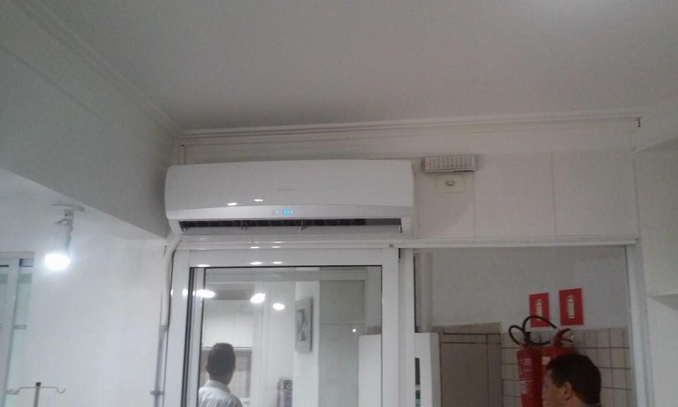 Valor Instalação e Manutenção de Ar Condicionado Split na Cantareira - Manutenção em Ar Condicionado Split